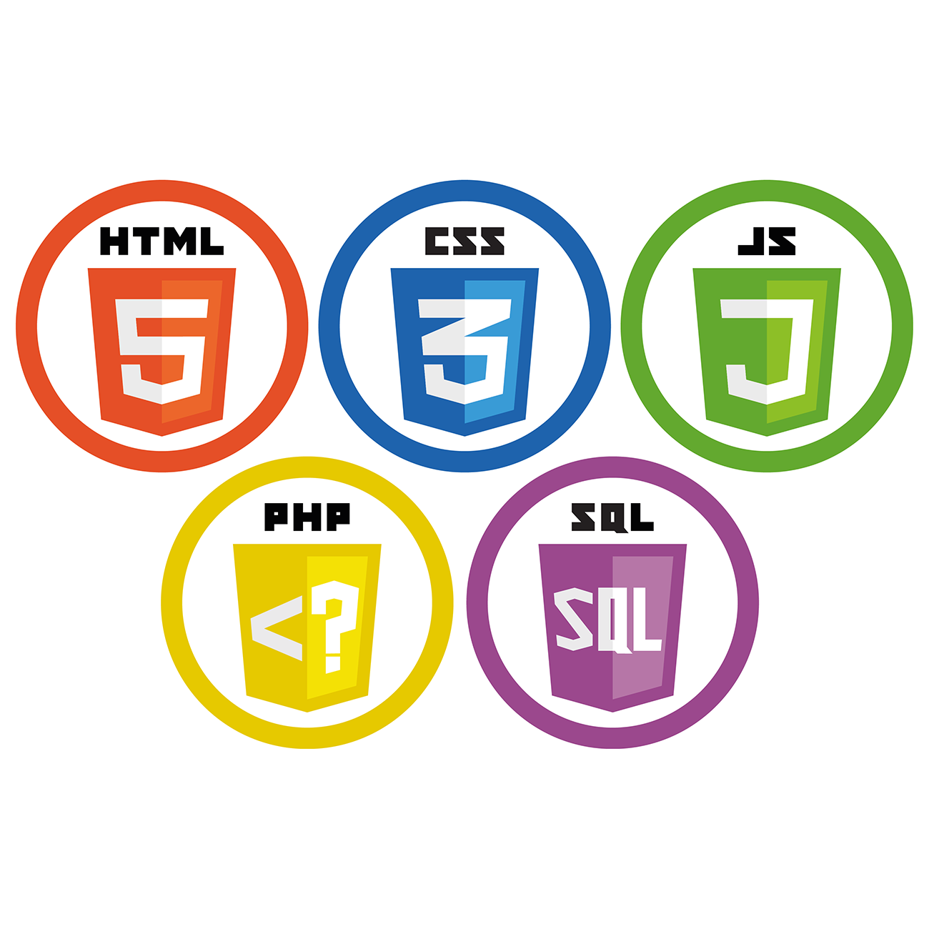 html-css3-js-php-sql